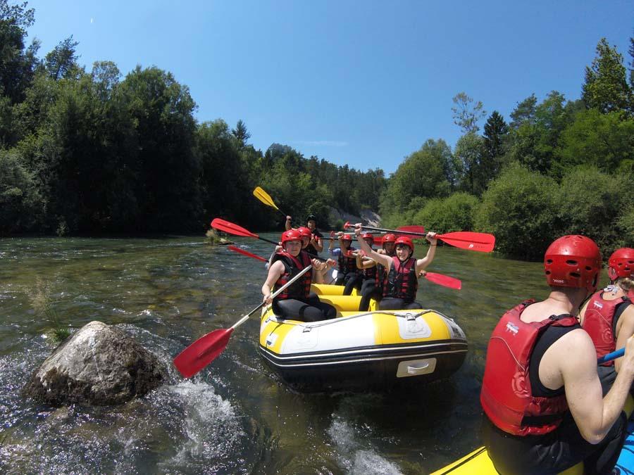 Rafting Lake Bled Activities Slovenia Adventure