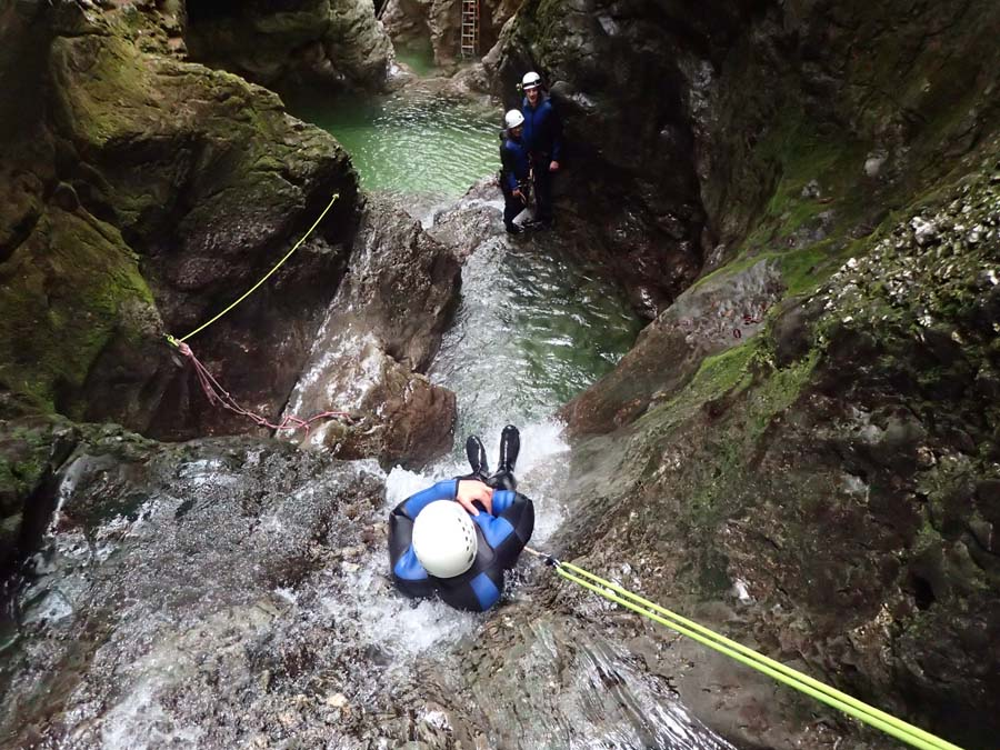 Slovenia Canyoning Lake Bled Activities Adventure