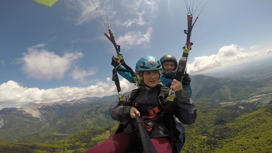 Bled Lake Paragliding Experience Activity