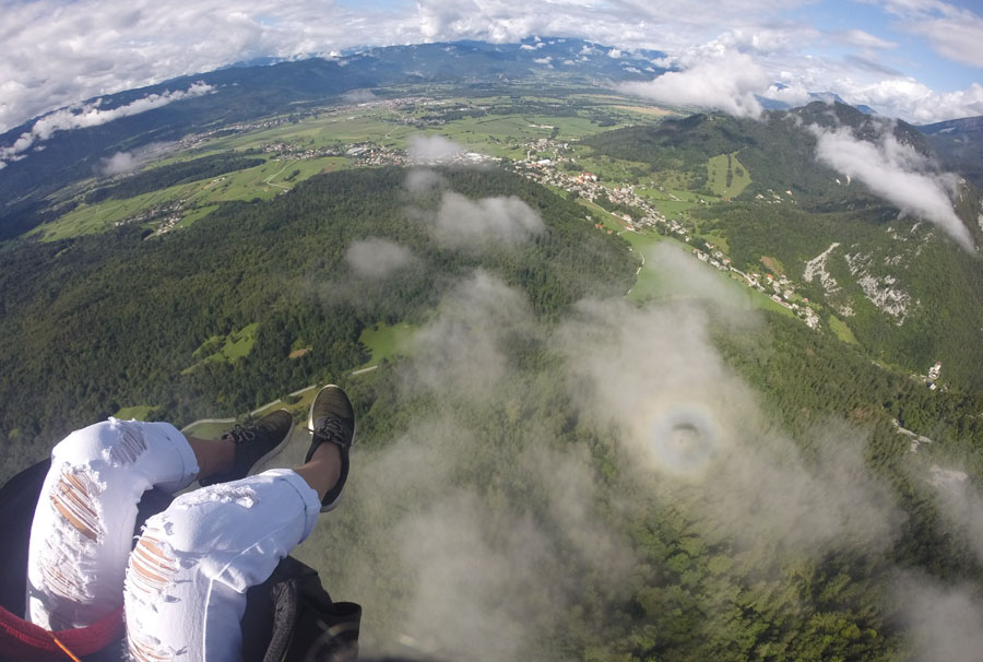 Tandem Paragliding Lake Bled Activities